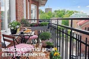 balkon estetiği