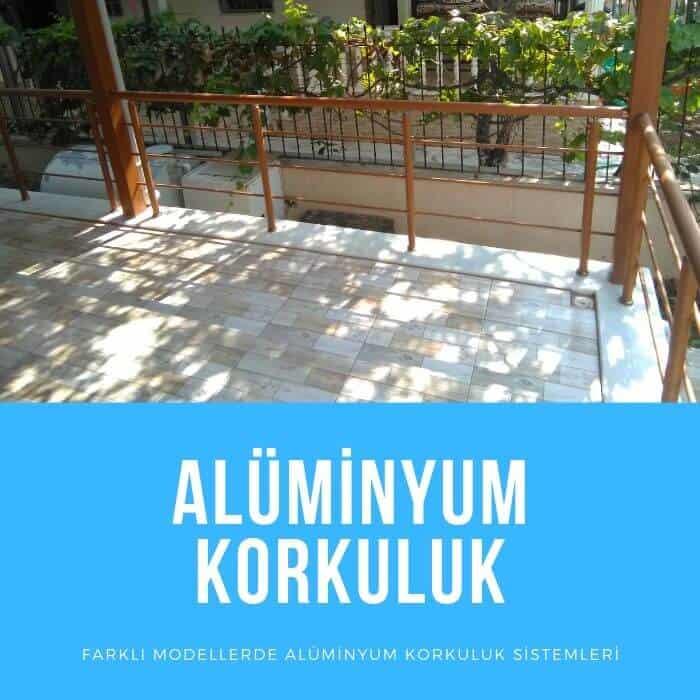 Alüminyum Korkuluk Küpeşte İzmir 6