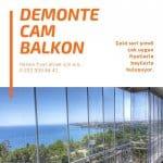 Demonte Cam Balkon İzmir