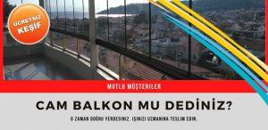 izmir cam balkon firmaları